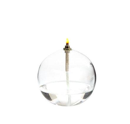 Lampe à Huile - Sphère en verre - MM