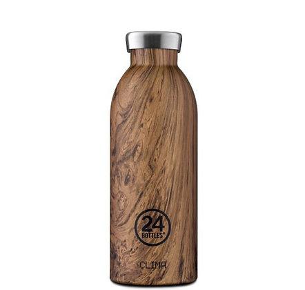 24Bottles - Clima Bottle 500 ml - Sequoia Wood