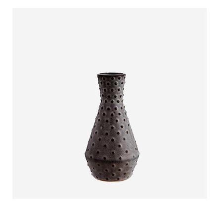 Madam Stoltz - Vase - Céramique Noire PM