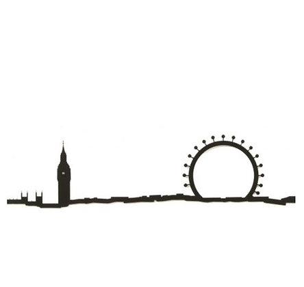 The Line - Londres - 50 cm - Noir