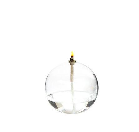 Lampe à Huile - Sphère en verre - PM