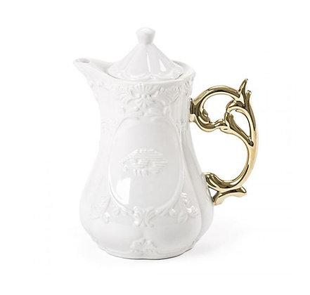 SELETTI - I-Ware  - Théière I-Teapot - Gold
