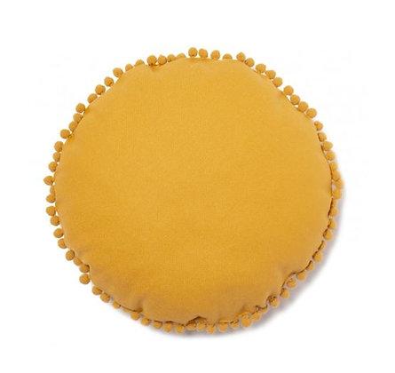 Nobodinoz -  Coussin rond Sunny- Farniente Yellow