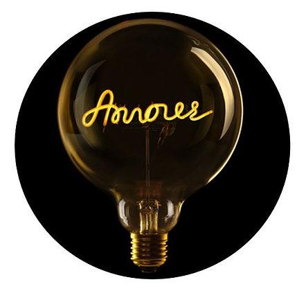 MITB - Ampoule message - Amour - Ambré