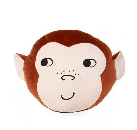 Nobodinoz - Coussin velours - Monkey