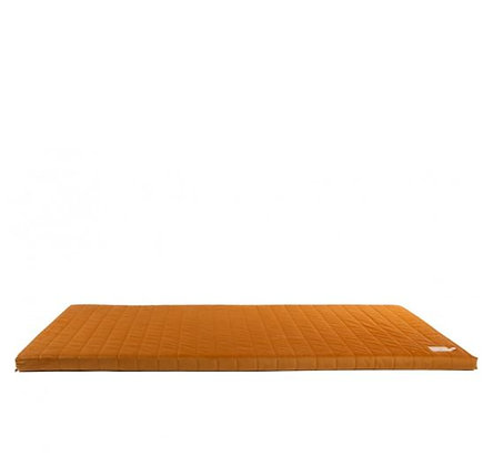 Nobodinoz - Tapis de Jeux - Zanzibar velvet mattress Farniente Yellow