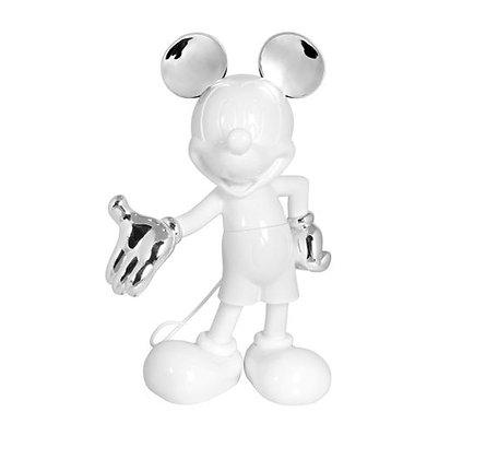 Leblon Delienne - Mickey Welcome - Bicolore Blanc Argent