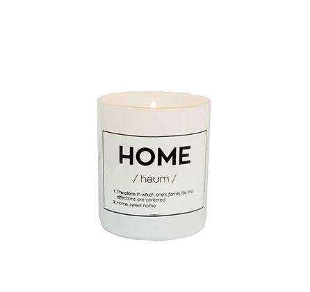 Bougie Parfumée - Home
