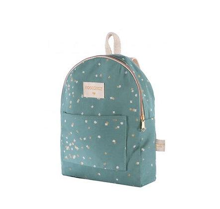 Nobodinoz - Mini sac à dos - Too Cool Gold Confetti/Magic Green