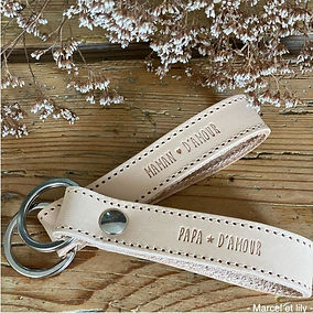 MARCEL&LILY-PORTE CLEFS - MAMAN DAMOUR P