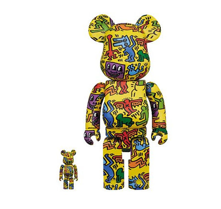 Bearbrick Keith Haring V5 – Set 100% et 400%