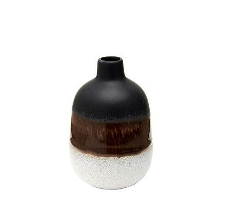 Sass & Belle - Mini Vase - Mojave - Black
