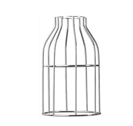Hoopzï - Abat-Jour Cage - Chrome