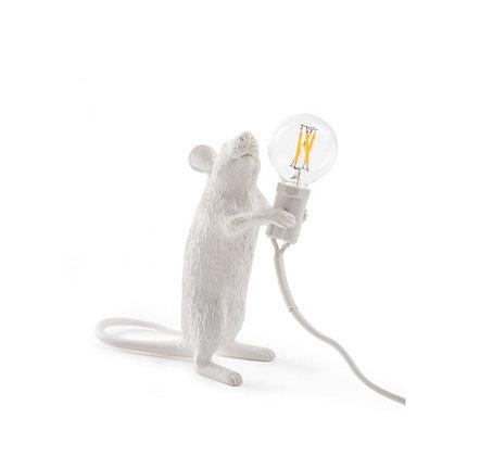 Seletti -  Lampe Mouse - Debout - White