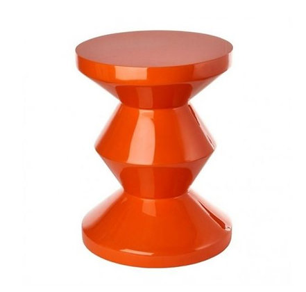 POLS POTTEN - Meuble d'appoint - Zig Zag - Orange
