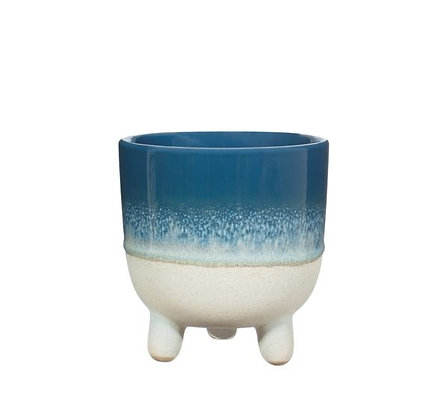Sass & Belle - Cache-Pot - Mojave - Blue - GM