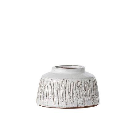 Bloomingville - Vase - Terracota blanc