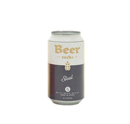 """Luckies of London  – Chaussettes - Bière Brune """"Stout"""""""