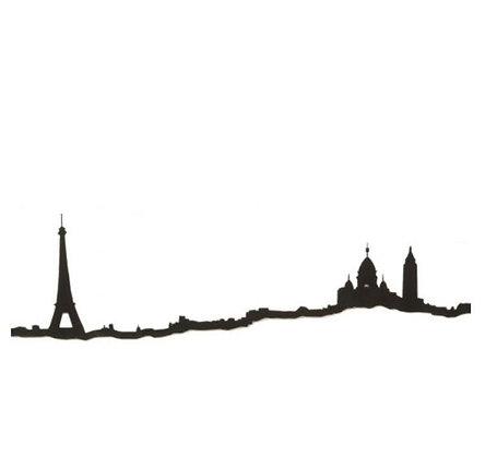 The Line - Paris - 50 cm - Noir