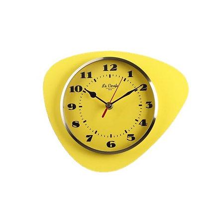 La Carafe - Horloge Médiator - Citron