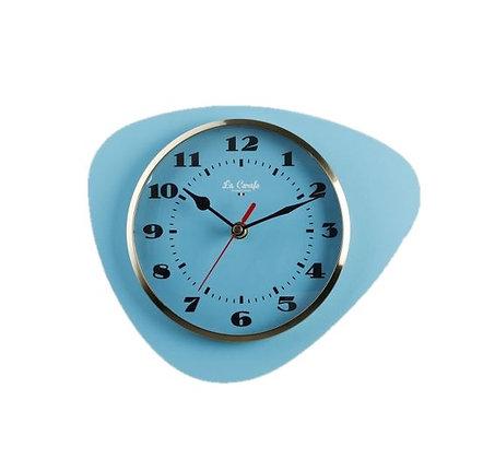 La Carafe - Horloge Médiator - Azur