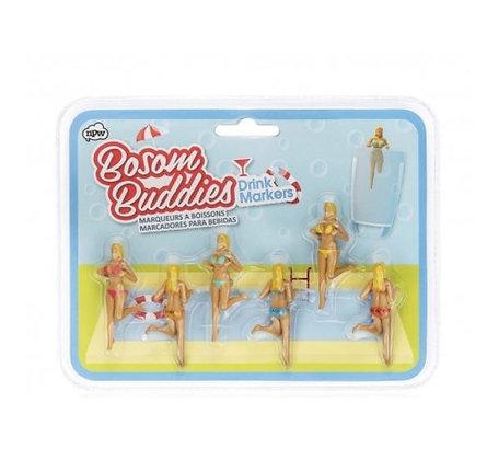 Marqueurs de verres - Bosom Buddies