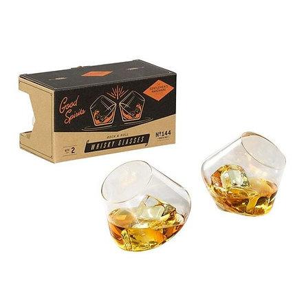 Gentlemen's Hardware - Verres à whisky à bascule