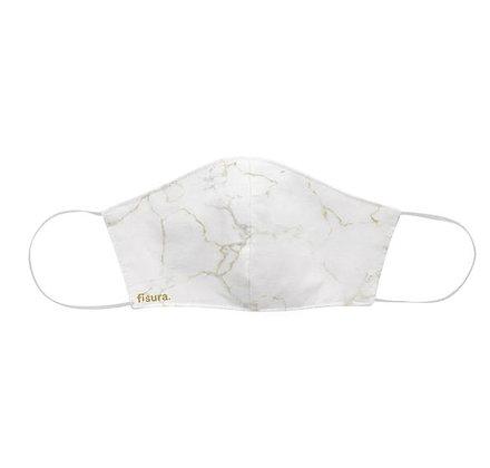Fisura - Masque - Marbre blanc