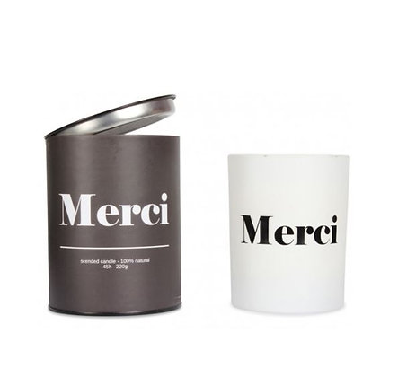 Bougie Parfumée - Merci