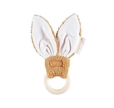 Nobodinoz - Anneau de dentition - Bunny caramel