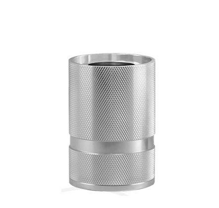 MITB - Socle Lampe de Table - Madison - 110 mm - Argent