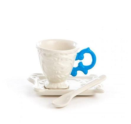 SELETTI - I-Ware  - I-Coffee - Bleu