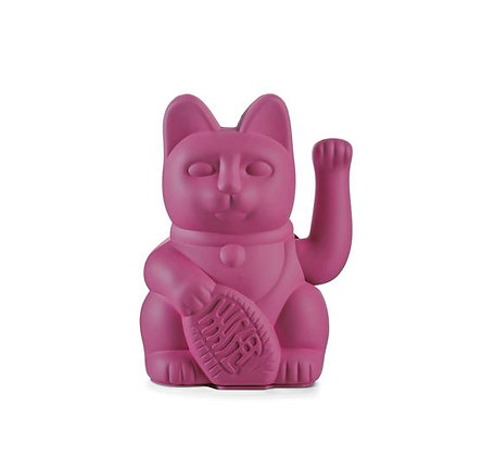 Maneki Neko - Lucky Cat - Purple