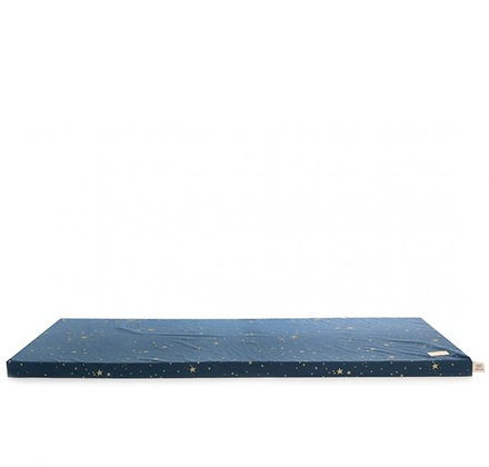 Nobodinoz - Tapis de Jeux - St Barth - Gold Stella Night Blue