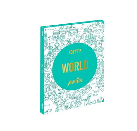 OMY - Coloriage Pocket - World