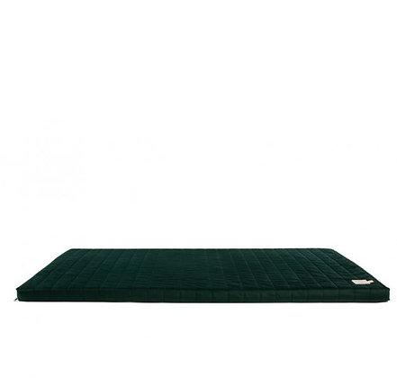 Nobodinoz - Tapis de Jeux - Zanzibar velvet mattress Jungle Green
