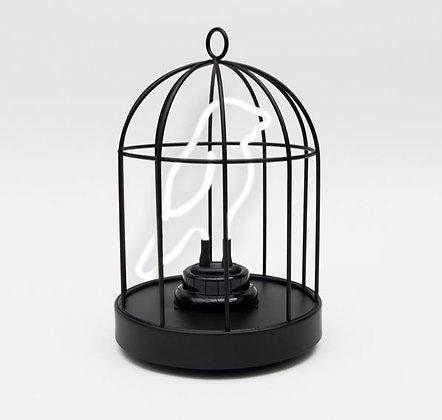 """Suck Uk - Néon """"Oiseau en cage"""""""