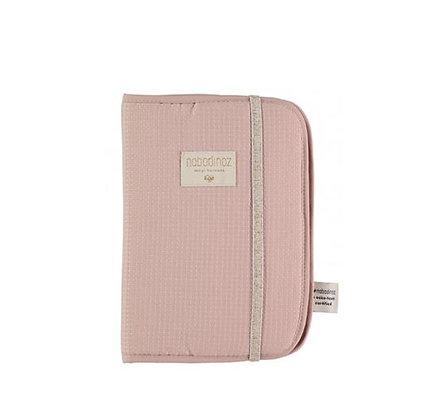 Nobodinoz - Protège-carnet de santé - Misty Pink