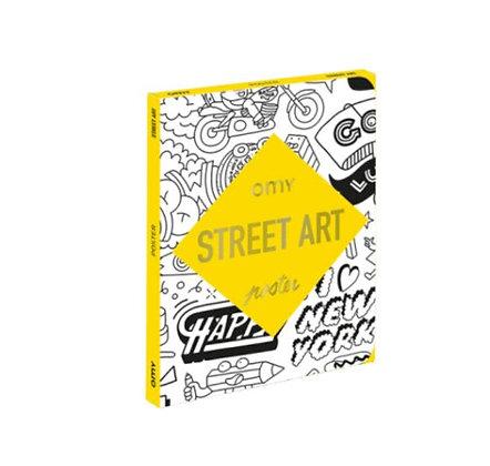 OMY - Coloriage Pocket - Street Art
