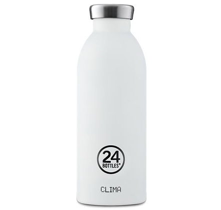 24Bottles - Clima Bottle 500 ml - Glacier Blanc