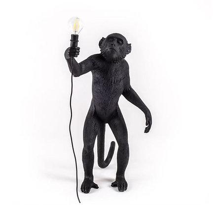 Seletti -  Lampe Monkey - Debout - Black