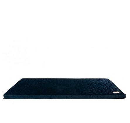 Nobodinoz - Tapis de Jeux - Zanzibar velvet mattress Night Blue