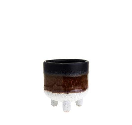 Sass & Belle - Mini Cache-Pot - Tie & Dye Noir