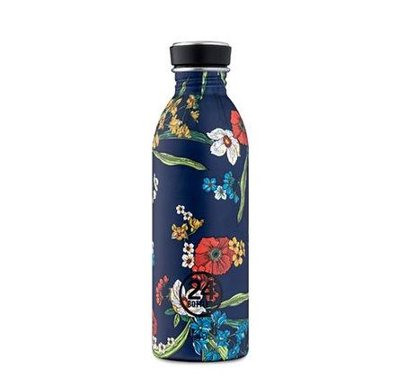 24Bottles - Urban Bottle 500 ml - Denim Bouquet