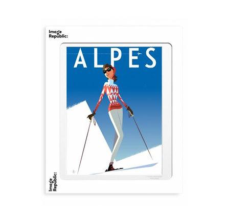 Image Republic - Monsieur Z - Alpes Fille Rouge