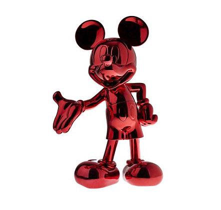 Leblon Delienne - Mickey Welcome - Chromé Rouge