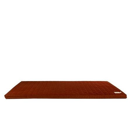 Nobodinoz - Tapis de Jeux - Zanzibar velvet mattress Wild Brown