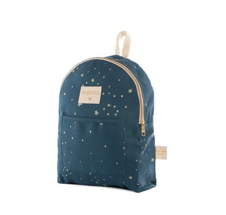 Nobodinoz - Mini sac à dos - Too Cool Gold Stella/Night blue