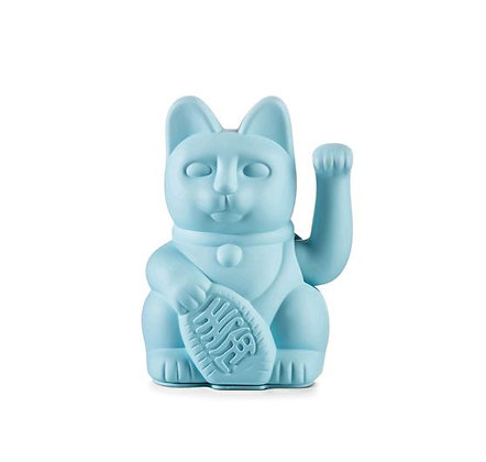 Maneki Neko - Lucky Cat - Blue