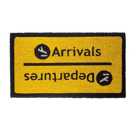 Fisura - Paillasson - Arrivals/Departures